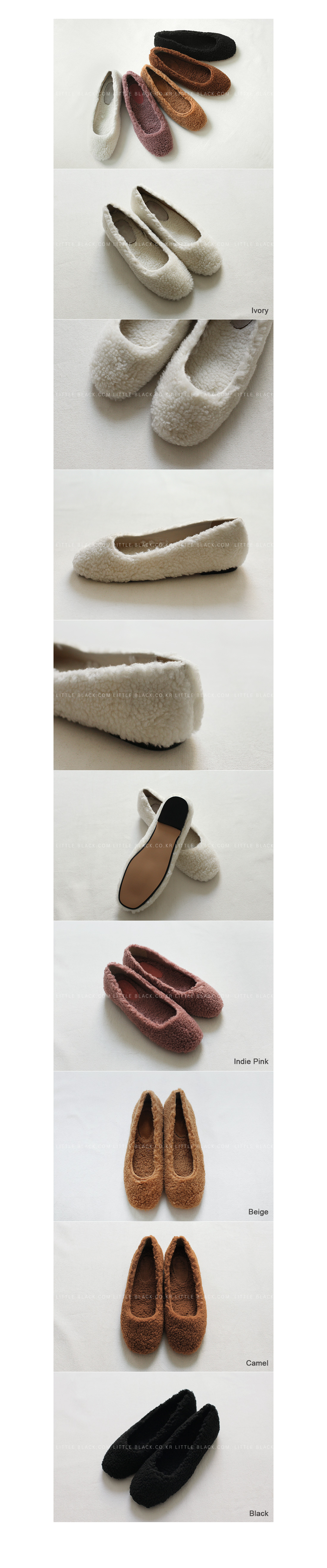Fleece Slip-On Flats|