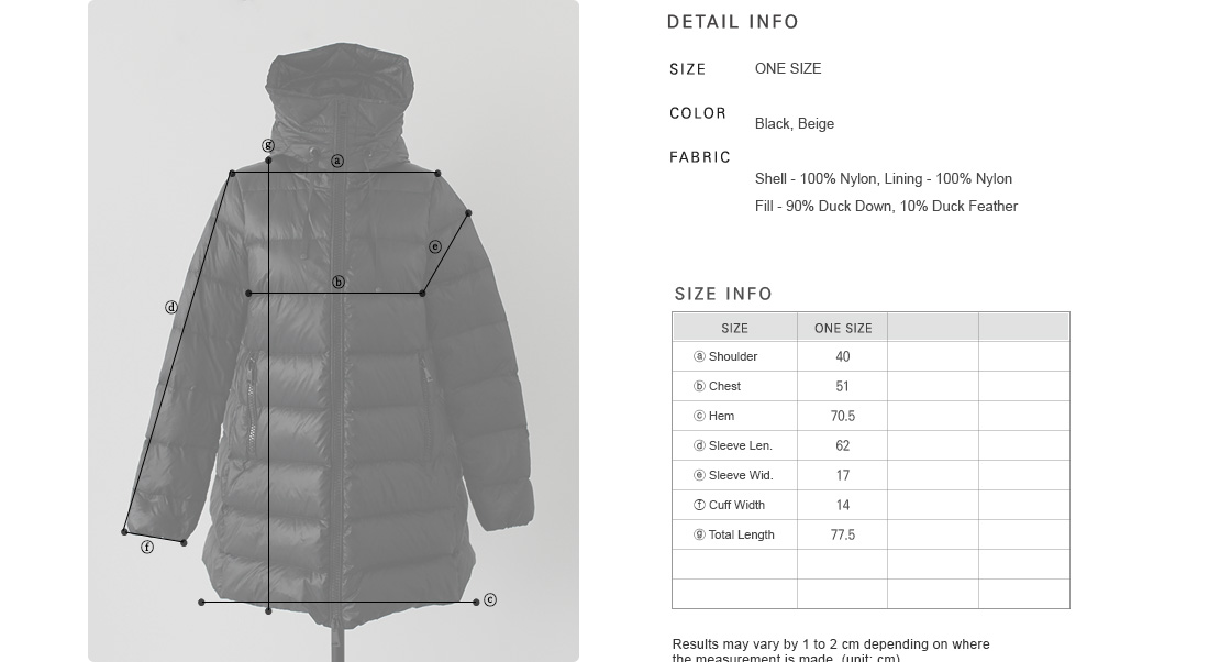 Funnel Neck Hooded Puffer Jacket|