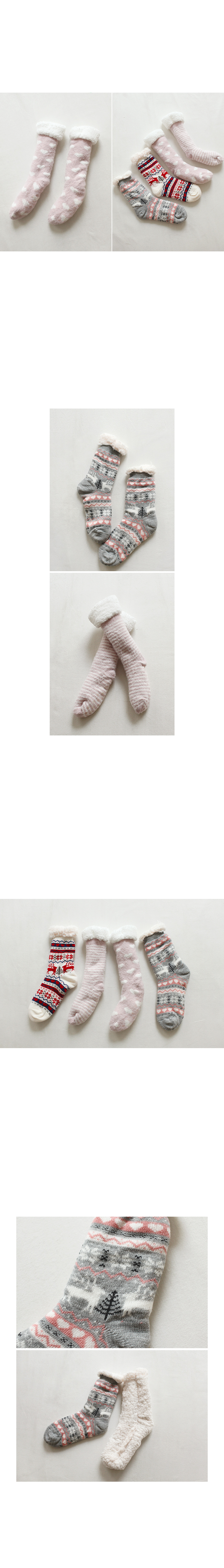 Fleece Lined Ankle Socks|