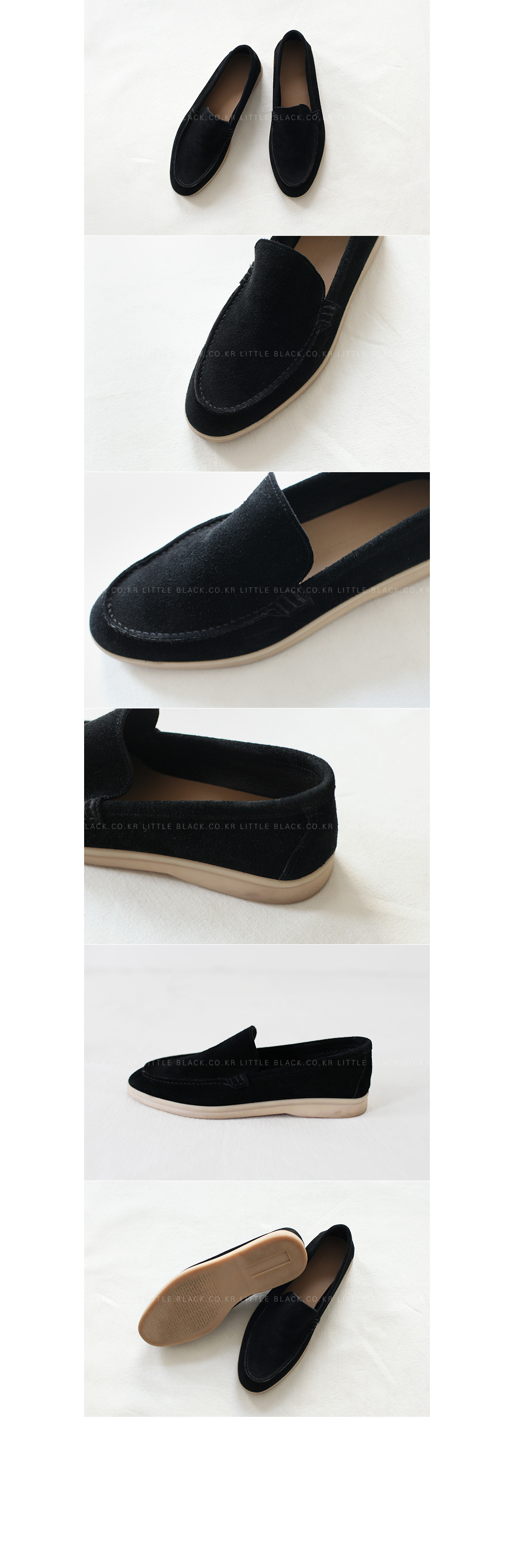 Contrast Sole Loafers|