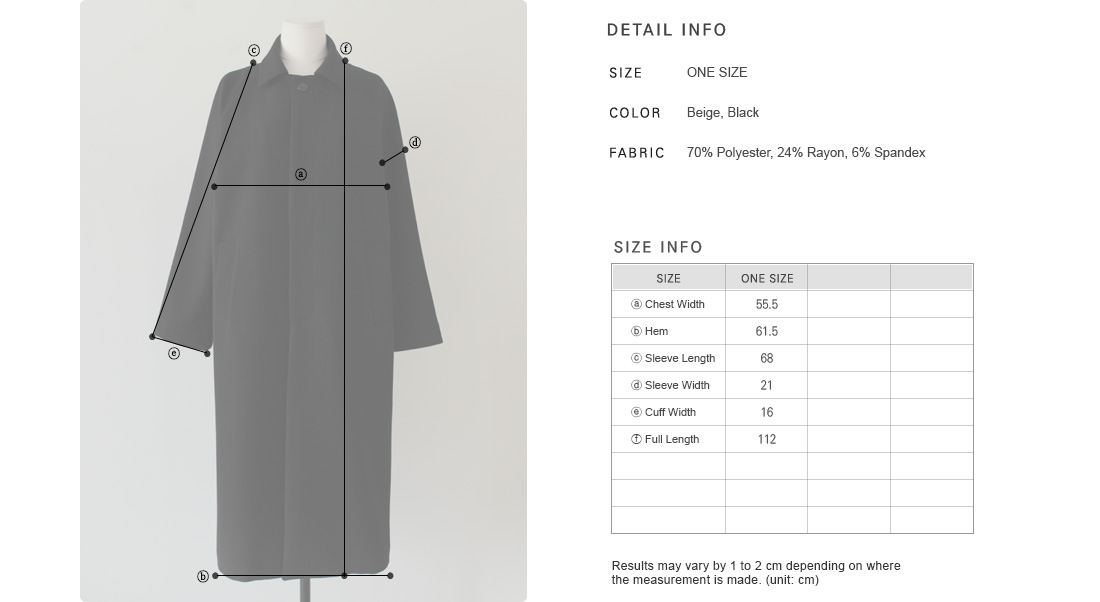 Single-Breasted Trench Coat|