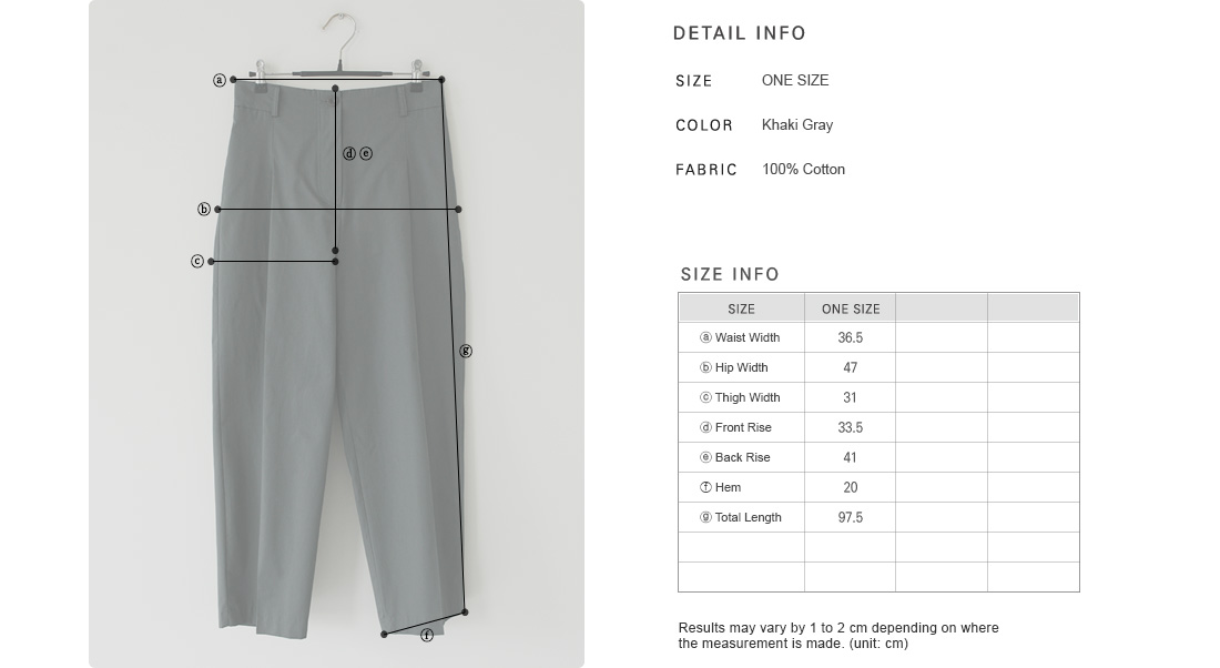 Semi-Elasticated Waist Barrel-Legged Pants|