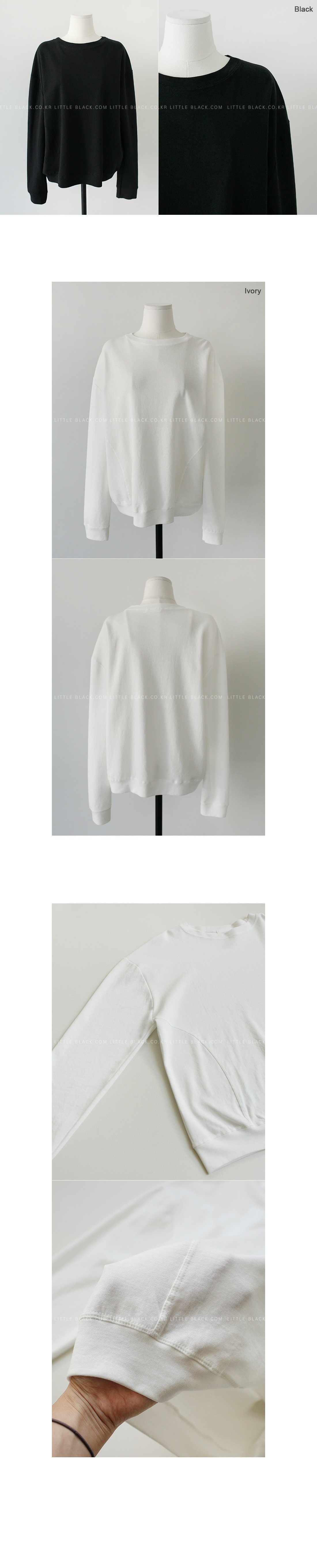Cotton Blend Sweatshirt|