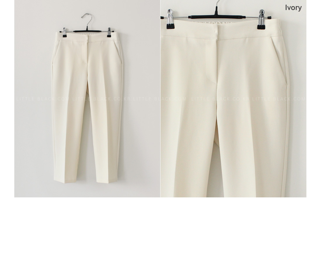 Front Crease Semi-Elasticated Waist Slacks|