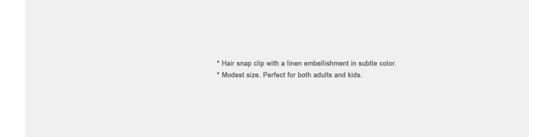 Square Hair Snap Clip|