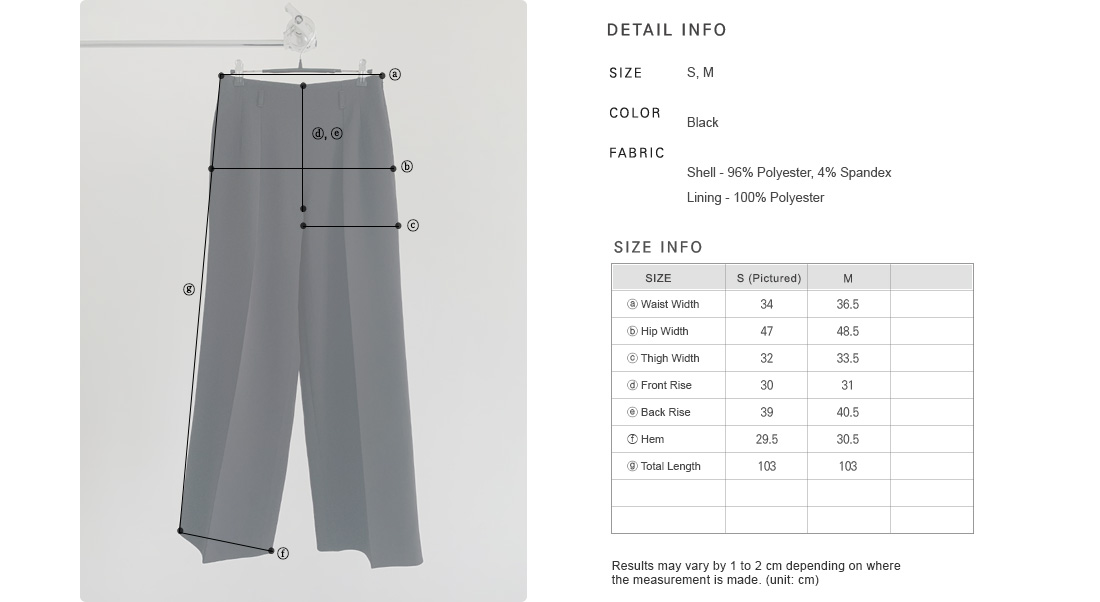 Tall Wide-Legged Slacks|