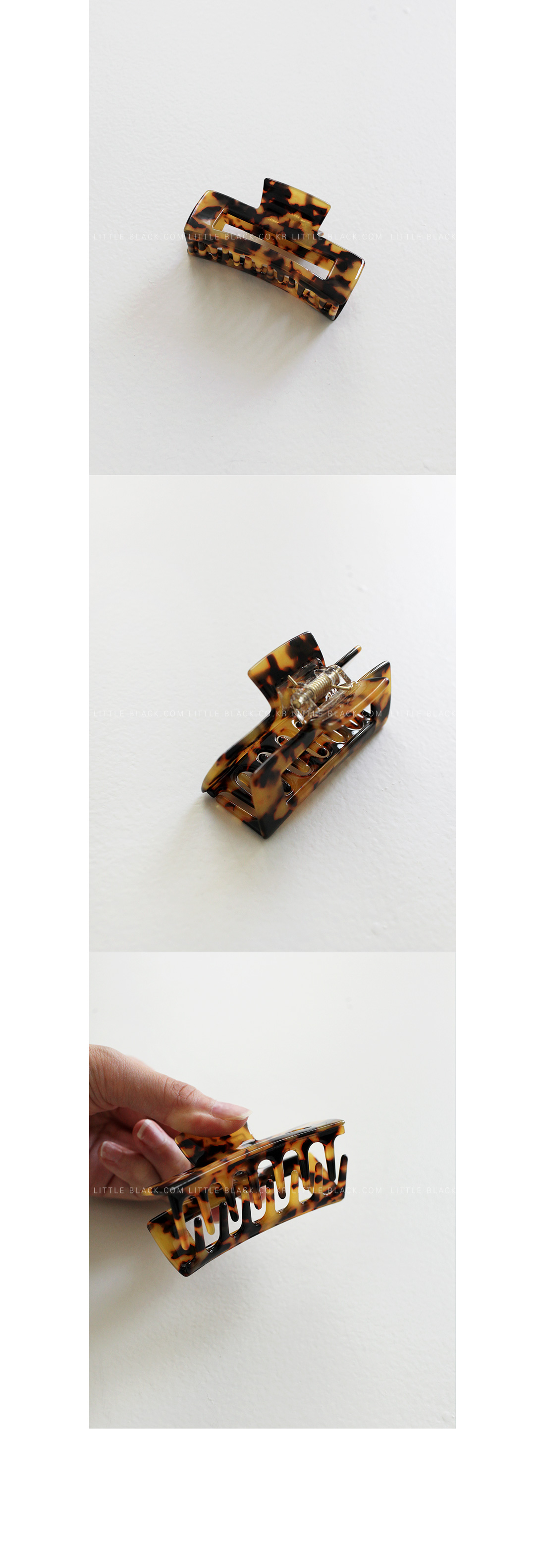 Animal Pattern Hair Claw Clip|