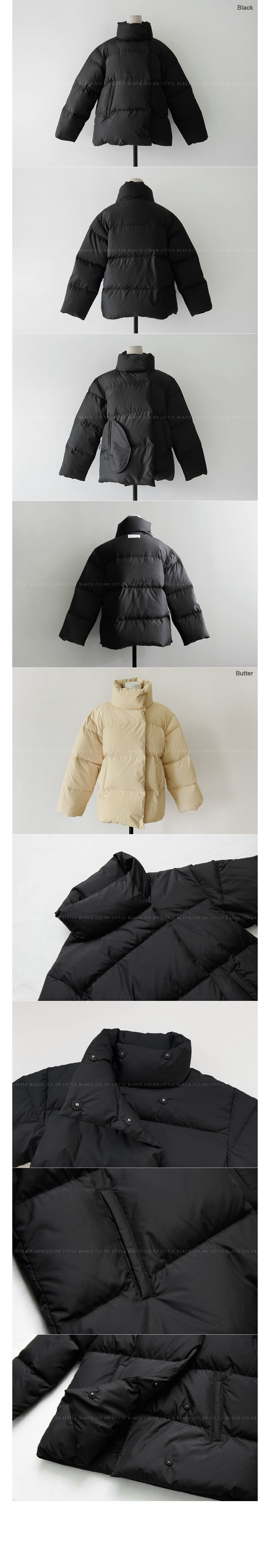 Stand Collar Goose Down Jacket|