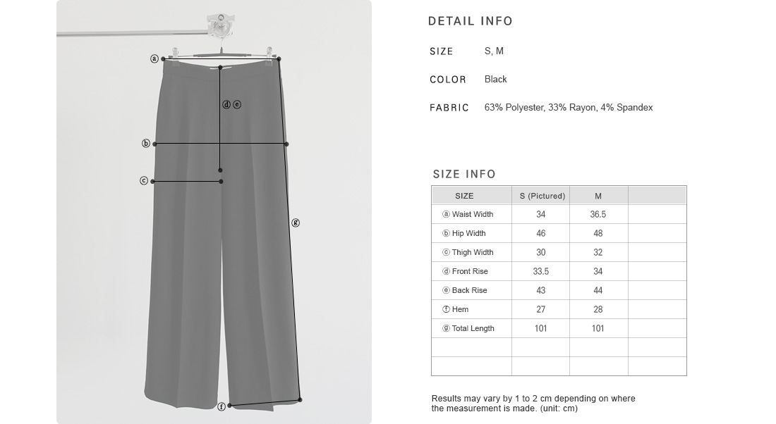 Front Crease Wide-Legged Pants|