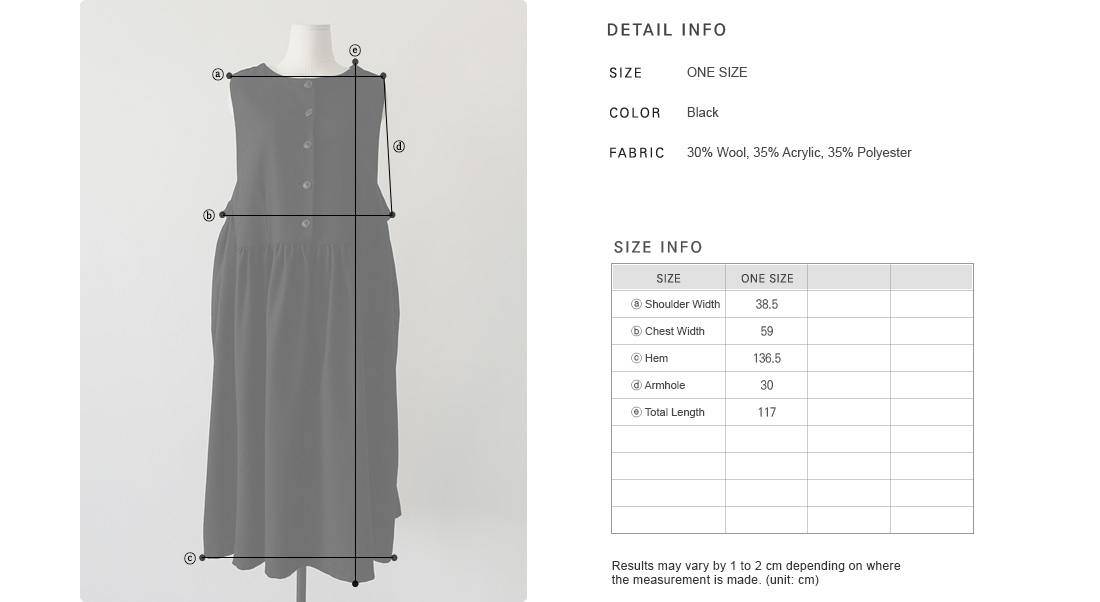 Buttoned Placket Sleeveless Smock Dress|