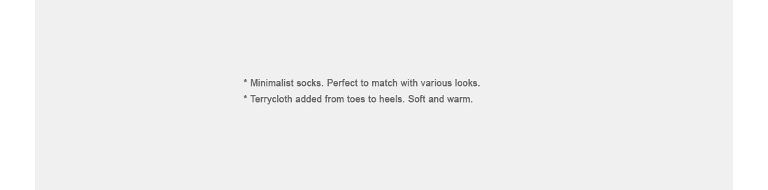 Basic Ankle Socks|