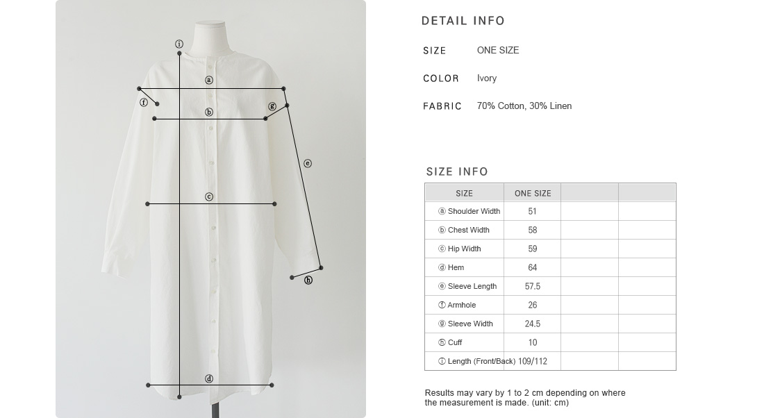 Round Neck Button-Through Shirtdress|