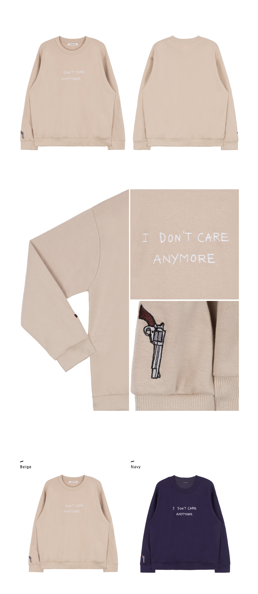 I DON'T CARE ANYMORE Sweatshirt|