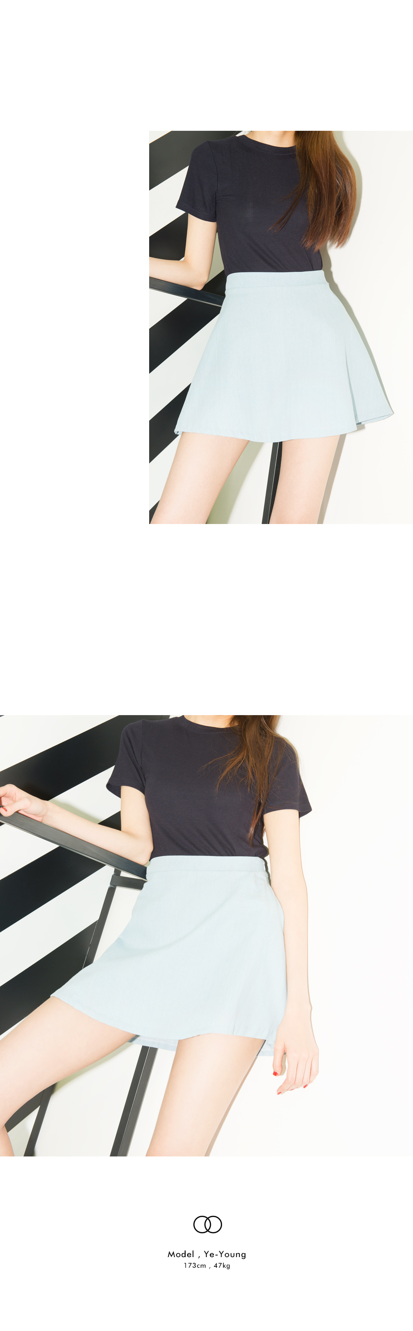 HIDE AND SEEKHigh Neck Slim Fit Top|