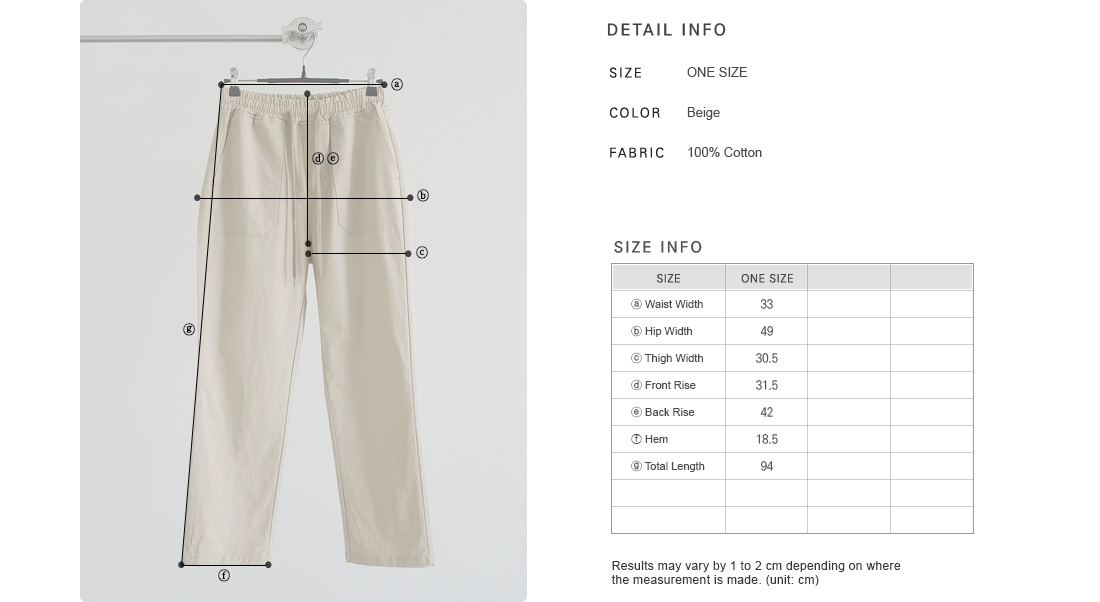 Patch Pocket Elasticated Waist Pants|